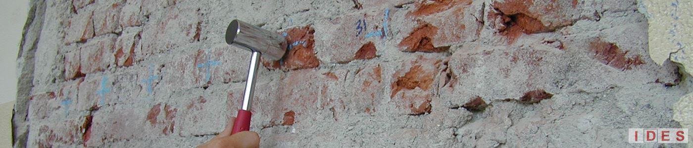 prove non distruttive muratura