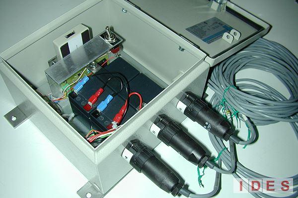 Data-logger monitoraggio fessure