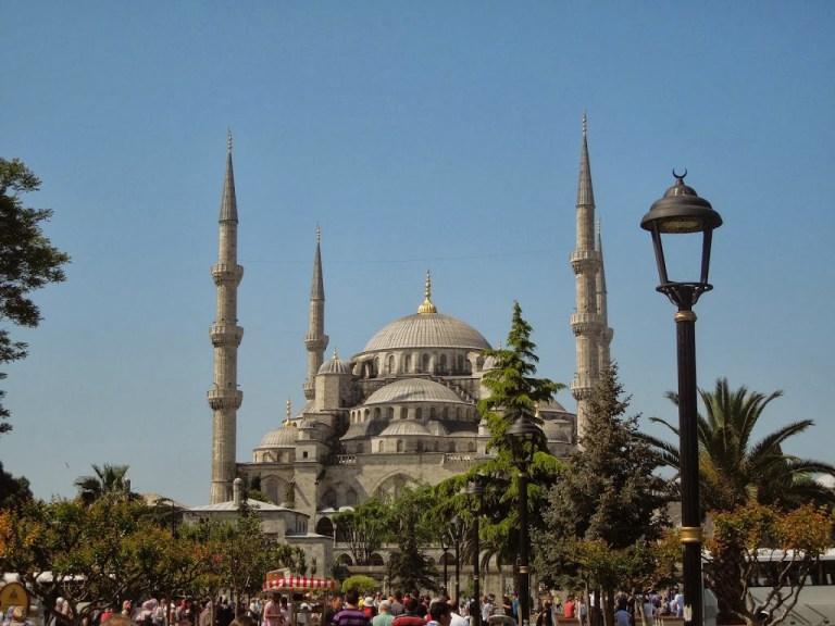 Mesquita otomana em Istambul, Turquia.