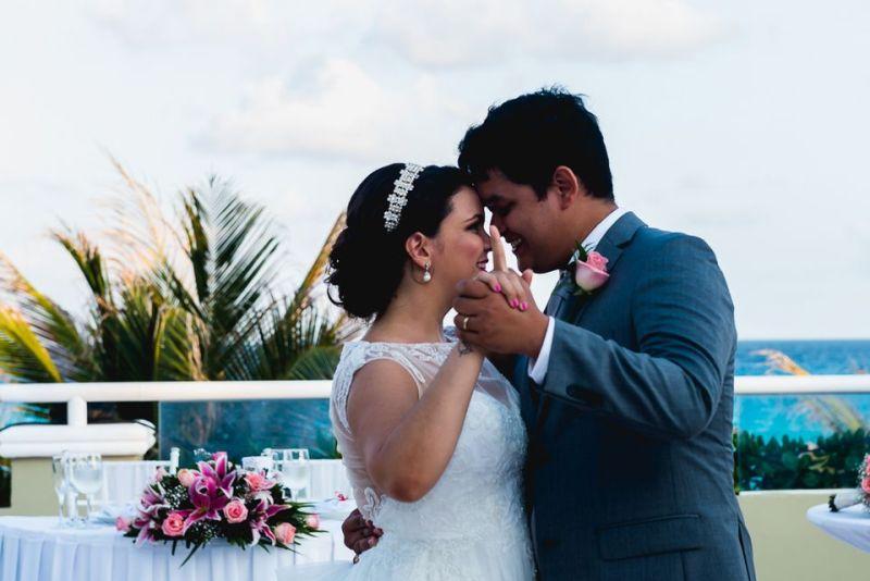 Nossa primeira dança - destination wedding cancun