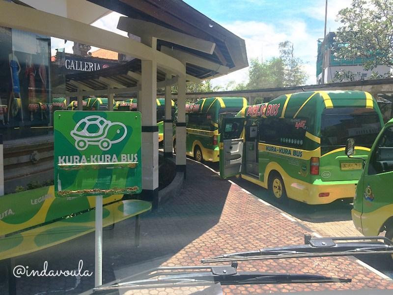 Como se locomover em Bali com o Kura Kura bus
