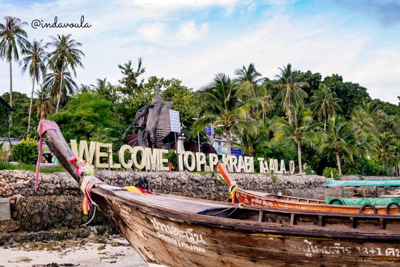 Chegada em Koh Phi Phi