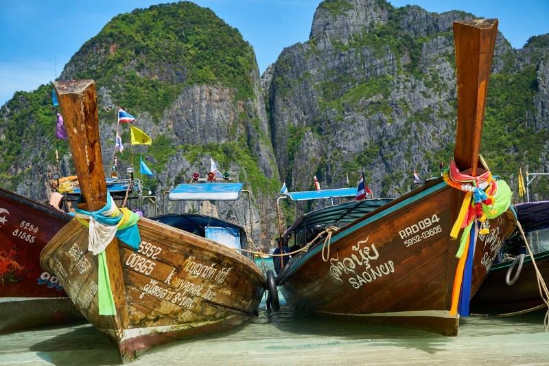 viajar para a tailândia - barcos
