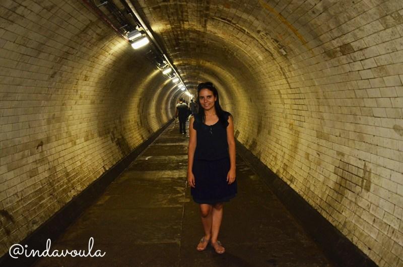 Tunel sob o rio tamisa