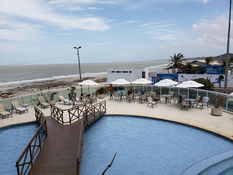 Onde se hospedar na praia em sao luis - hotel luzeiros