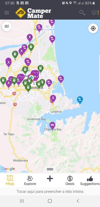 locais para acampar na nova zelandia
