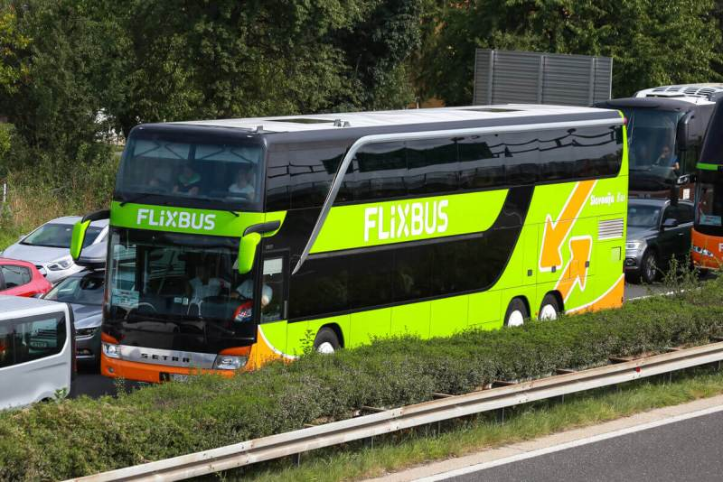 viajando de flixbus - viagem de onibus pela europa