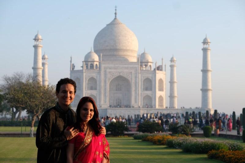 Triângulo Dourado da Índia - Agra - Taj Mahal1