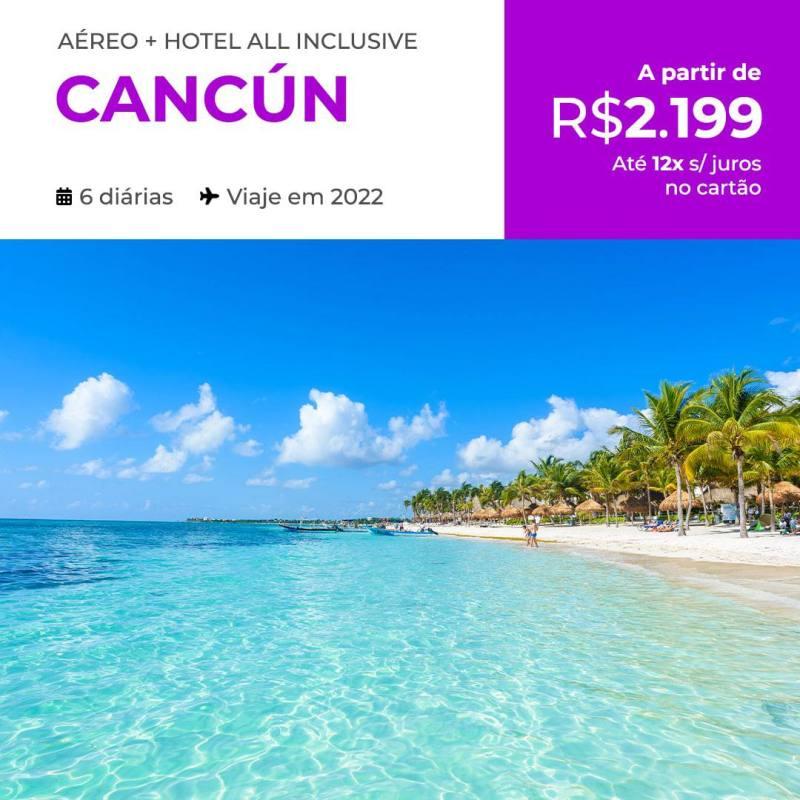 Pacote de viagem para Cancun em 2022