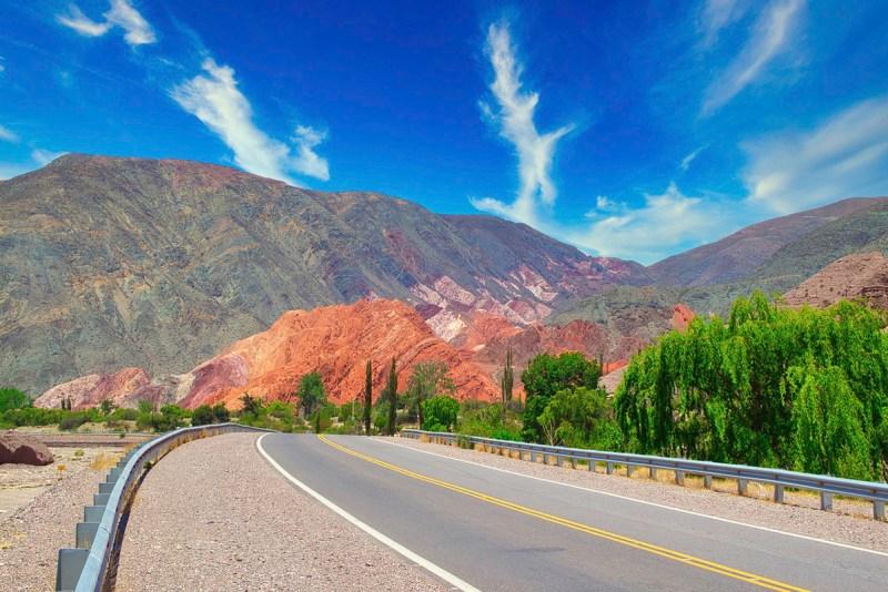 viajar para argentina - montanhas