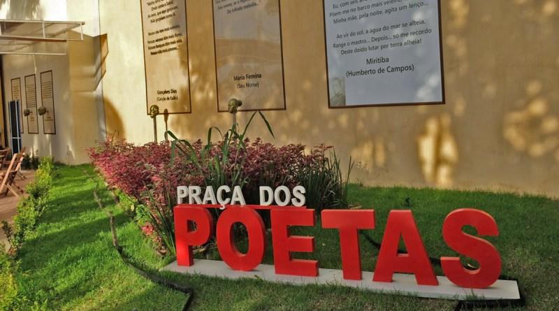 Praça dos Poetas em São Luís Maranhão