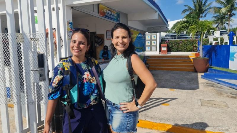 Eu e a Lilian, sócia da Cancuners