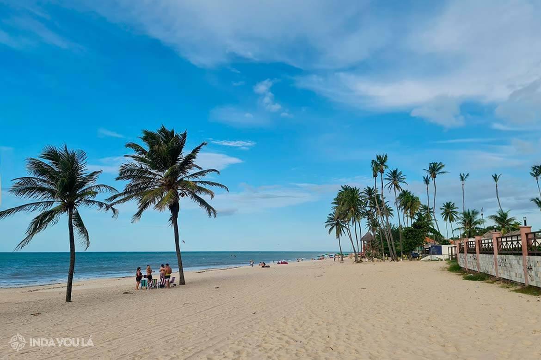 Praia de Cumbuco no Ceará