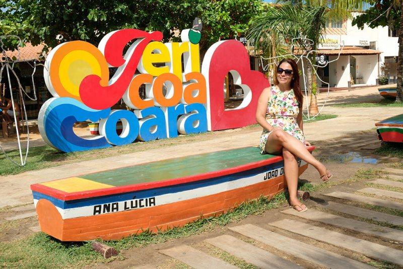 Alegria das cores na cidade de Jericoacoara