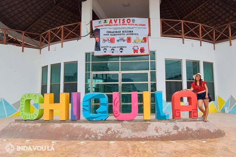 Chiquila, ponto de acesso a Holbox, ilha no México