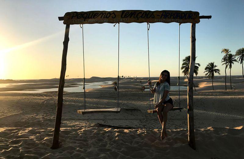 APA dos Pequenos Lençóis em Tutóia do Maranhão