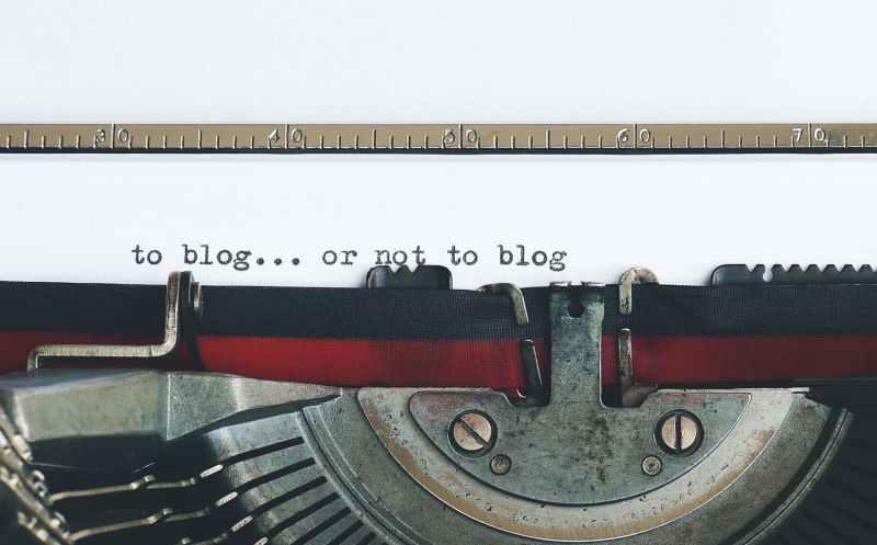 a vintage typewriter