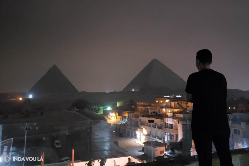 hotel com vista para as pirâmides de gizé