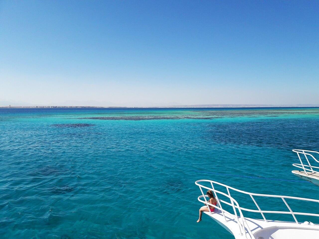 mar vermelho no pacote de viagem pelo egito 2021