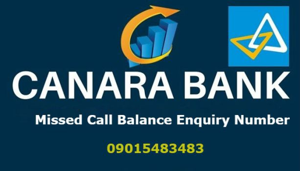 Canara Bank Missed Call Balance Enquiry Number