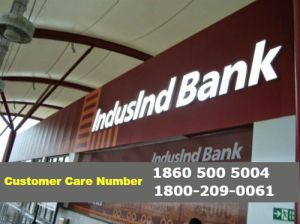 IndusInd Bank Customer Care Number