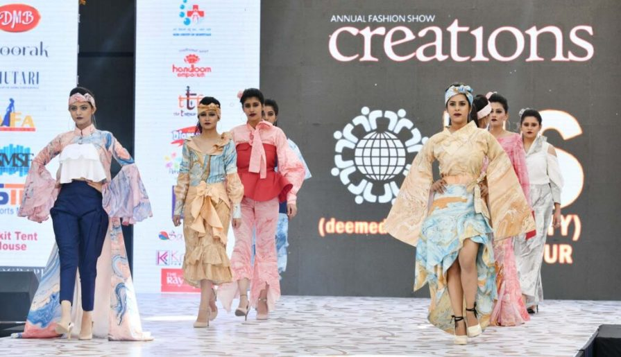 Annual Fashion Show CREATIONS 2019 of IIS (Deemed to be University)