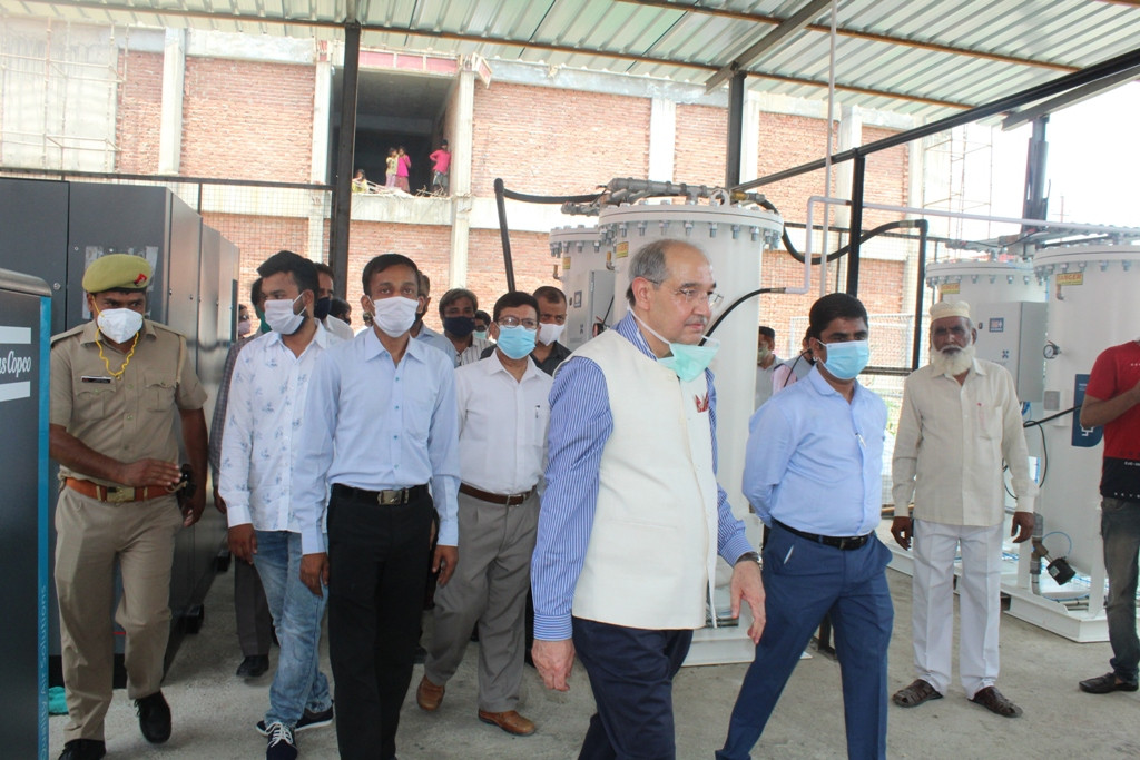 High Capacity Oxygen Generation Plant Inaugurated At JNMC