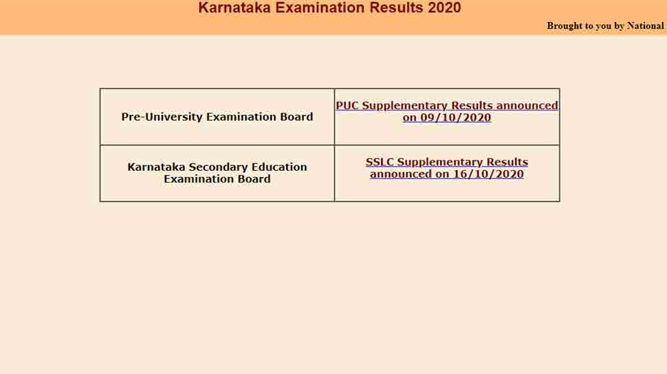 Karnataka 2nd PUC Result 2021 Live Updates: Direct link to check PUC marks