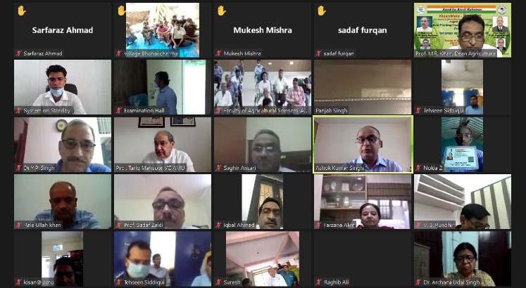 Virtual Kisan Mela Held At AMU