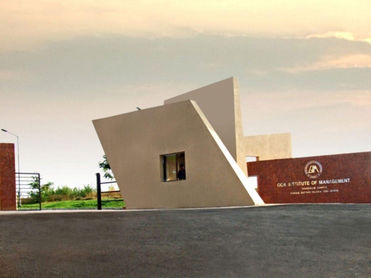 Goa Institute of Management Campus in Sanquelim