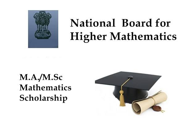 NBHM Scholarships for Pursuing PG Studies (MA/M.Sc.) in Mathematics for 2019-20