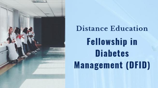 CMC Vellore Distance Education Fellowship in Diabetes Management 2019, Application, Dates