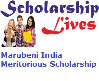 Marubeni India Meritorious Scholarship 2019