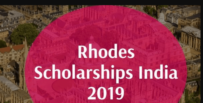 Rhodes Scholarship Program 2020 for India, Eligibility, Application Dates