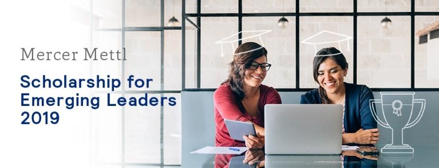Mercer Mettl Scholarship For Emerging Leaders 2019