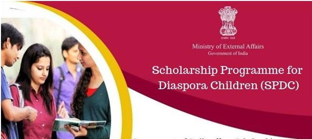 Scholarship Programme for Diaspora Children (SPDC) 2019-20
