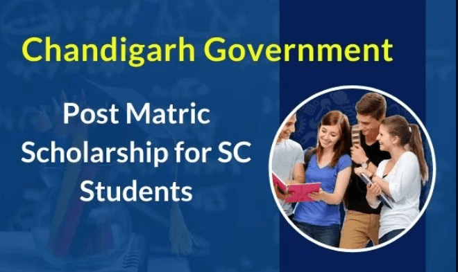 Chandigarh Government Post Matric Scholarship 2019 for SC Students