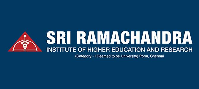 SRIHER Admission Scholarship