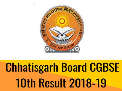 CG BSE 10th Results