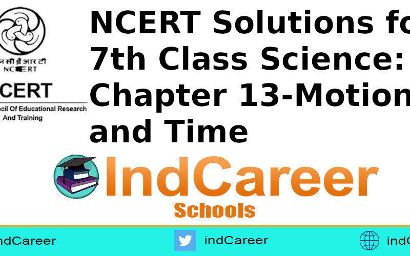 NCERT Solutions for 7th Class Science: Chapter 13-Motion and Time