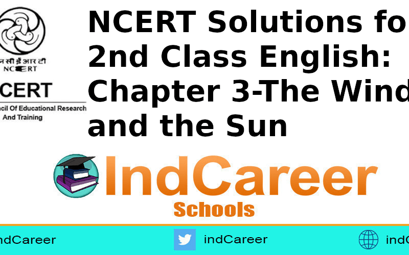 NCERT Solutions for Class 2nd English: Chapter 3-The Wind and the Sun