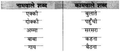 NCERT Solutions for Hindi: Chapter 15-एक्की-दोक्की प्रश्न 9