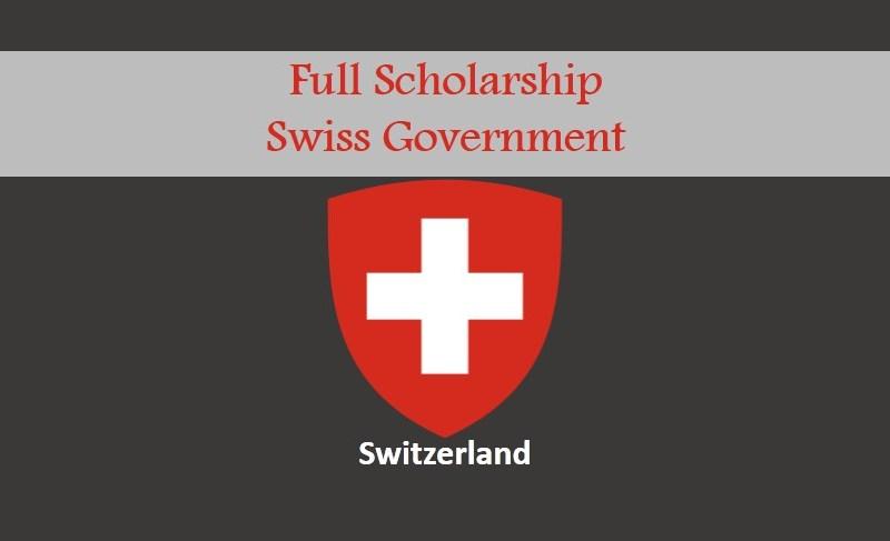 Swiss Government Switzerland Scholarships