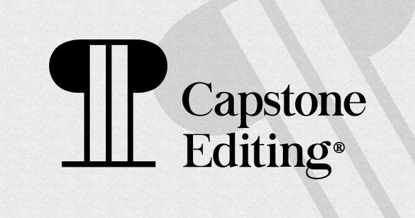 Capstone Editing Company