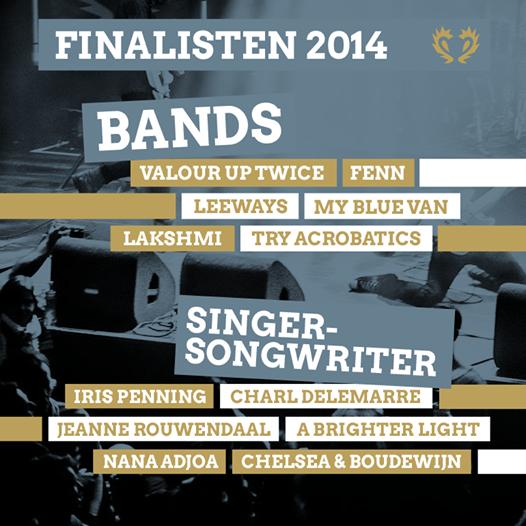 Finalisten Grote Prijs van Nederland 2014