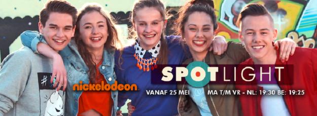 Demi van Wijngaarden in Nickelodeon televisieserie Spotlight