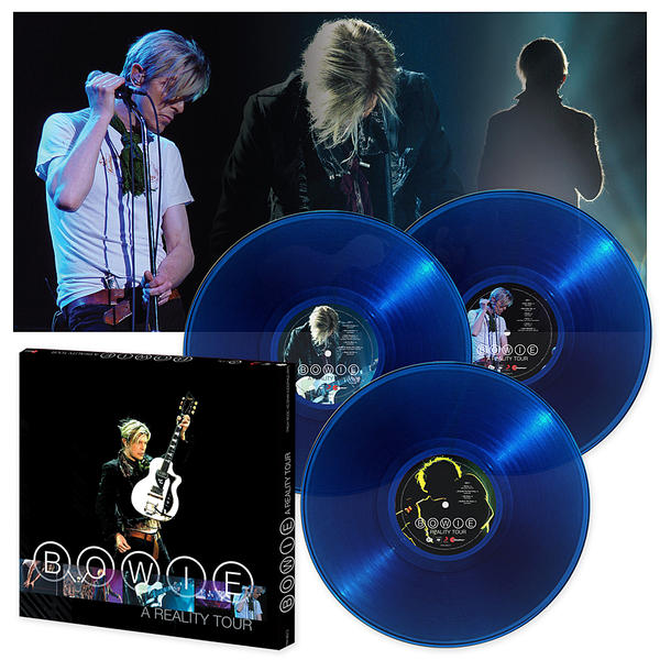 David Bowie-Reality Tour vinyl box set
