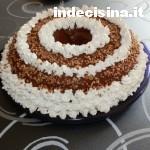 Chiffon cake o ciambellone americano