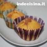 Muffin alla marmellata di ciliegie
