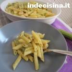 Penne zucchine e gamberetti bimby